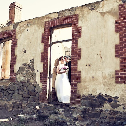 Something Old .... - Wedding photography at an old homestead ruins near the Adelaide Hills.