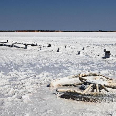 Salt Corosion - Lake Hart, outback South Australia