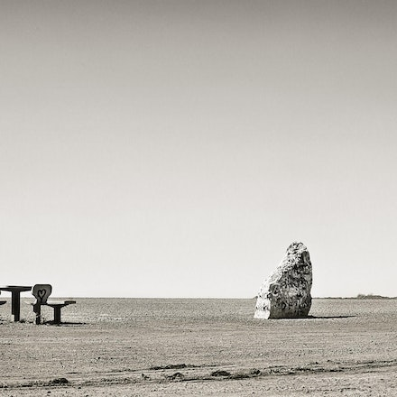 Open Air Dining - Roadside stop - outback South Australia