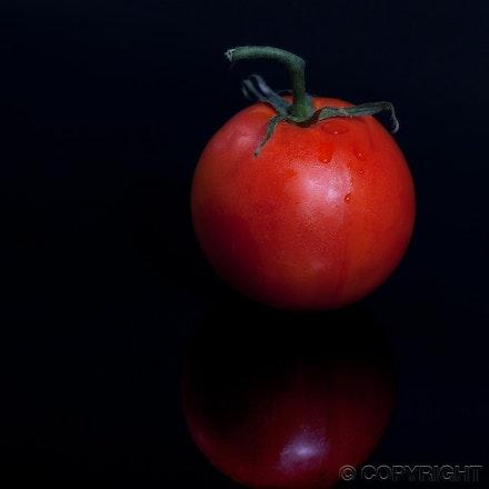 fresh tomato - simple and elegant food image