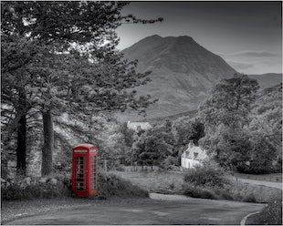 The British Phone box
