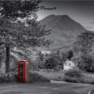 The British Phone box