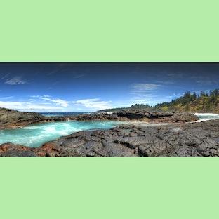 Panorama Norfolk Island