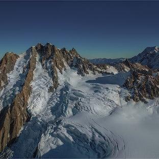 Tasman Glacier Aerials