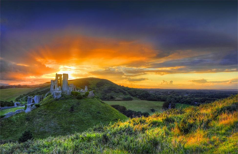 Corfe-Sunrise-E01001011-17x25