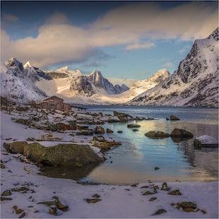 Arctic circle of Norway