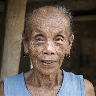 Face of Laos
