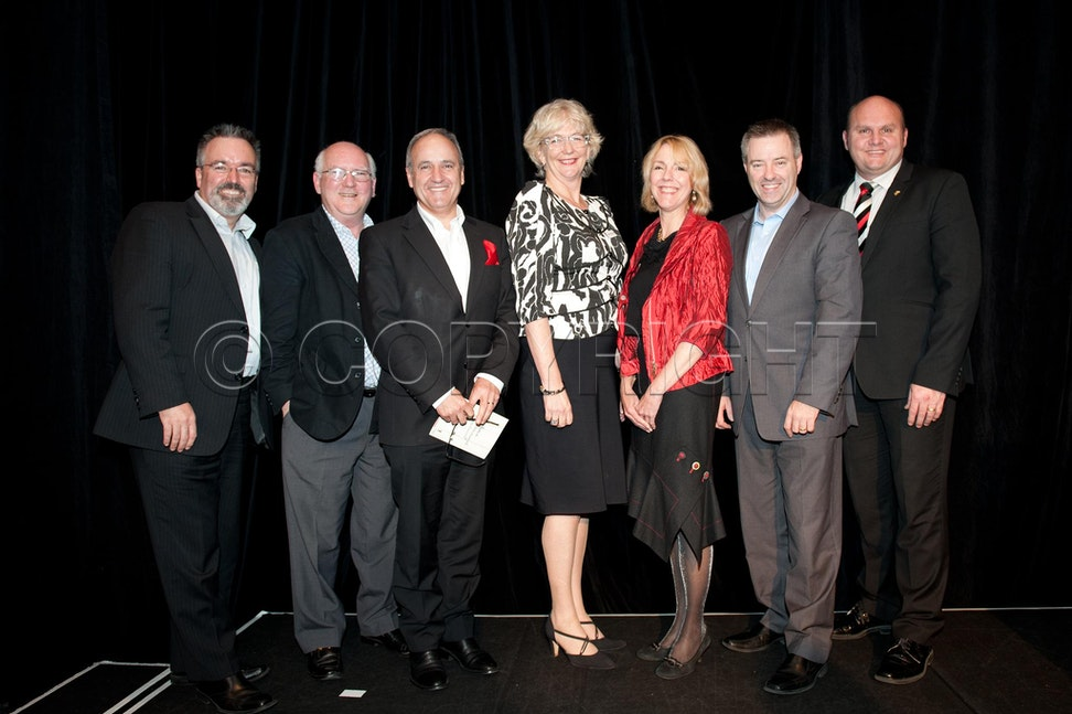 YMCA 2012 Awards ceremony - 2012 Awards night for YMCA, at Etihad stadium, Melbourne, Victoria.