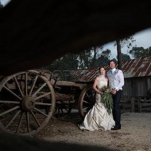Meike & Burns - Meike & Burns Wedding, Emu Bottom, Sunbury.  Victoria.