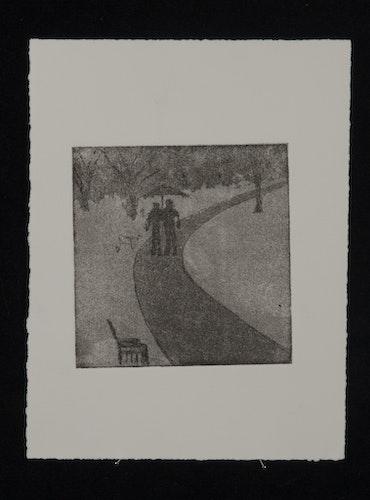 My journey - Typewriter & Intaglio Aquatint prints-12