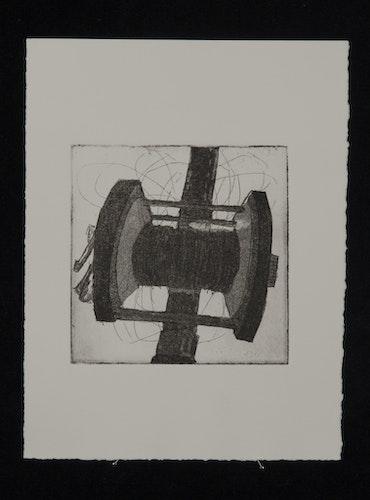 My journey - Typewriter & Intaglio Aquatint prints-20