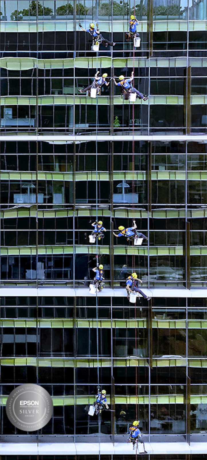 Window Washers Silver Award - Commercial category - self commissioned