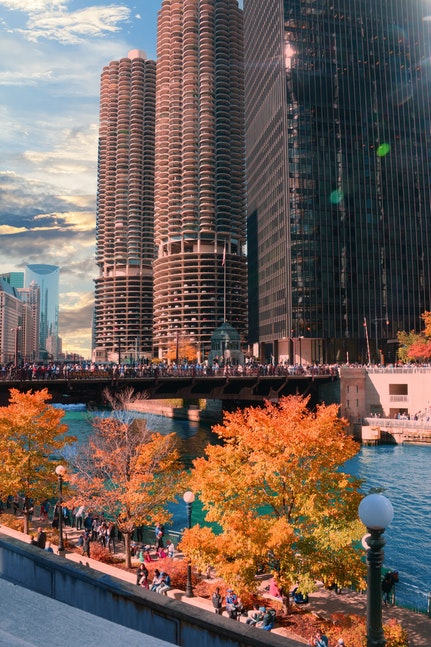 Fall colors chicago