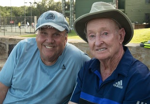 2017 Tennis Fantasies w/John Newcombe & the Legends - 30th Anniversary of Tennis Fantasies held at John Newcombe's tennis ranch in New Braunfels, Texas....