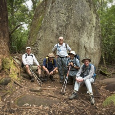 Wilson's Promontory people pics - Wilson's Promontory National Park, Victoria: Peter Watt, Leon Kawalsky, David Goodman, Alan Joffe and Jack Hochfeld