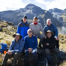 Hollyford and Routeburn people pics- preliminary - Preliminary selection of people pics taken by Jack and David while walking the Hollyford and Routeburn...