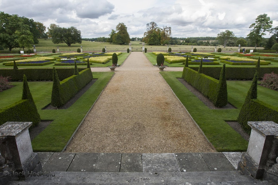 Formal gardens, Wimpole Hall, Cambridgeshire - Formal gardens, Wimpole Hall, Cambridgeshire