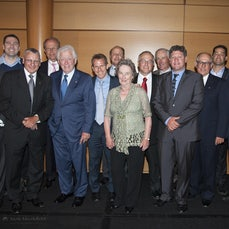 Maccabi NSW Hall of Fame 2012 - Inductees to the Macabbi NSW Hall of Fame 2012: Jack Ellison, Jon Pillemer, Gavin Fingleson, Larry Cornofsky, Frank Lowy...