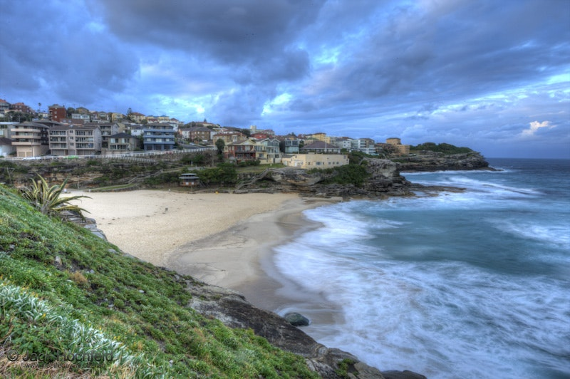 Tamarama Beach, Australia - An high dynamic range (HDR) image