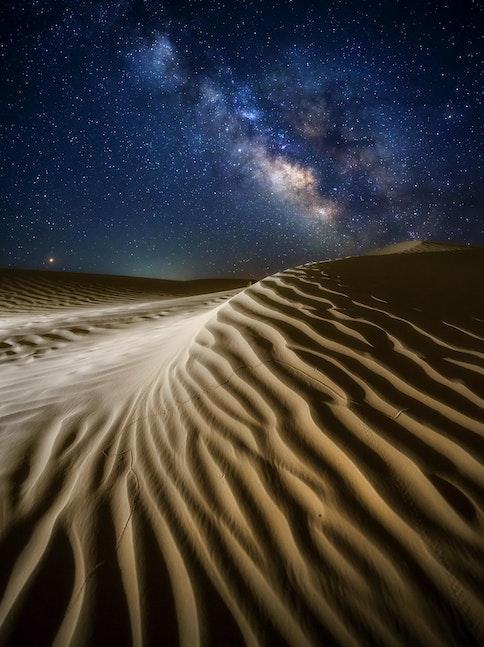 Celestial dunes