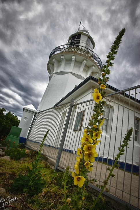 Smokey Cape Lighthouse - Smokey Cape Lighthouse near South West Rocks in New South Wales often has dramatic skies to match it's dramatic wind swept setting....