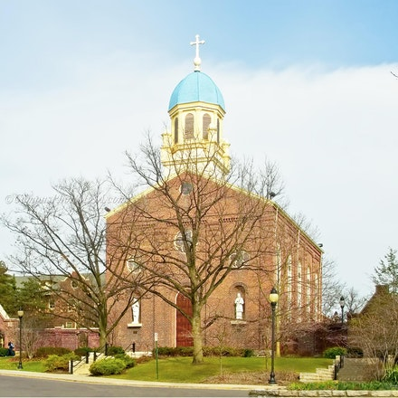 8x10.Chapel of the Immaculate Conception, Date: 03.24.2010_University of Dayton_2430_Print_1.2192 - Photo by Campus Photos USA. (Color Photo) The Chapel...