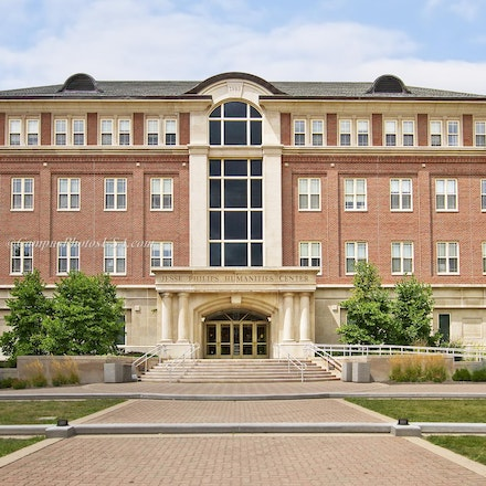 Jesse Philips Humanities Center, University of Dayton_3624_3386 - Photos by Campus Photos USA. (Color Photo) The Jesse Philips Humanities Center was constructed...