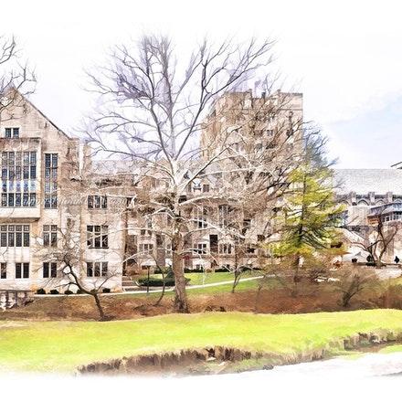 Indiana Memorial Union, IU/Digital Watercolor_1632_410 - Photo by Campus Photos USA. The Indiana Memorial Union, fondly known as the Union is located on...