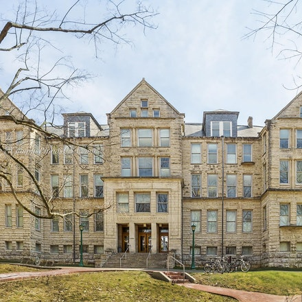 Ernest Hiram Lindley Hall, Indiana University/Color Photo_2436_419 - Photo by Campus Photos USA. Ernest Hiram Lindley Hall, Indiana University, Bloomington,...