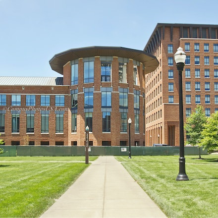 Fisher College of Business, the Ohio State University/Color Photo_2436_2_7729 - Photo by Campus Photos USA. The Max M. Fisher College of Business is the...