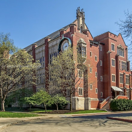 Hamilton Hall, the Ohio State University/Color Photo_2436_0888 - Photo by Campus Photos USA. Hamilton Hall is located on the college campus of the Ohio...