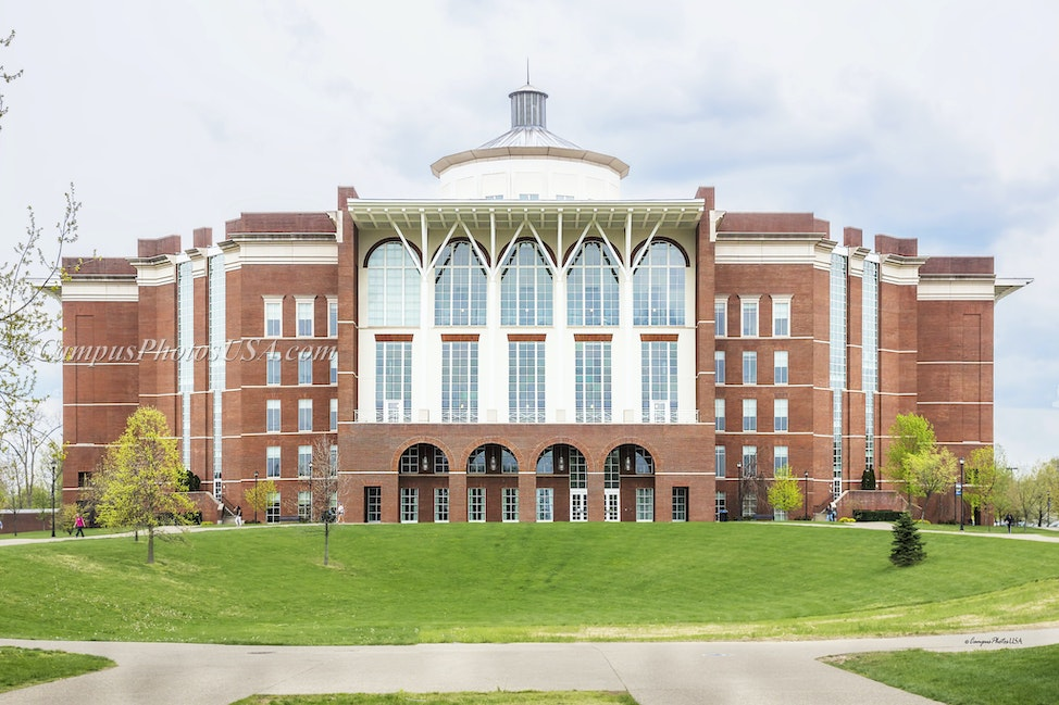 William T. Young Library, the University of Kentucky/Color Photo_2436_6840 - Photos by Campus Photos USA. The William T. Young Library, located on the...