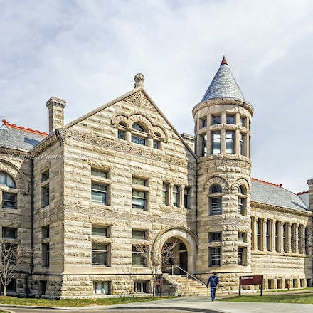 Maxwell Hall, Indiana University/ Color Photo_2436_6149_2_ - Photo by Campus Photos USA. Maxwell Hall, on the campus of Indiana University in Bloomington,...
