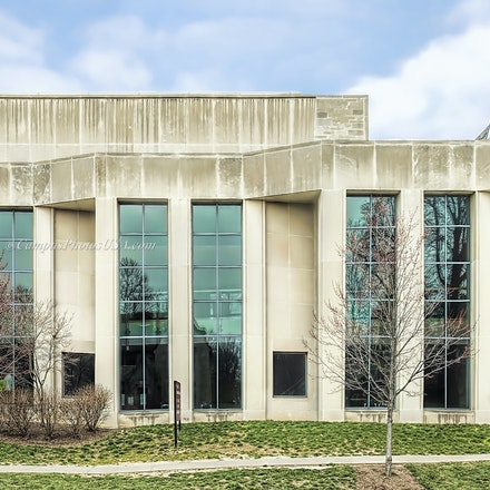 Lee Norvelle Theater and Drama Center, Indiana University/Color Photo_1640_2_ - Photo by Campus Photos USA. in January 2002, the Lee Norvelle Theater and...