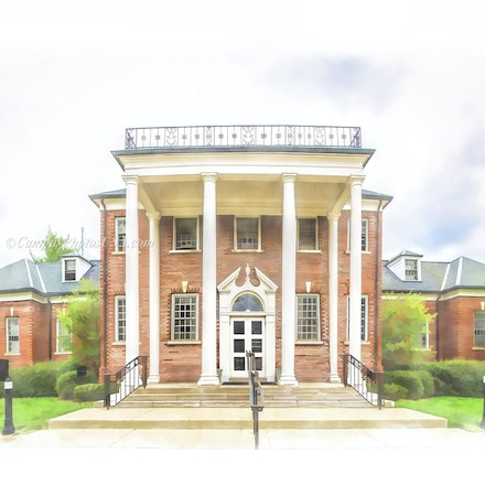 Helen King Alumni Building, the University of Kentucky/Digital Painting_2436_2_ - Photo by Campus Photos USA. The Helen King Alumni Building, located on...