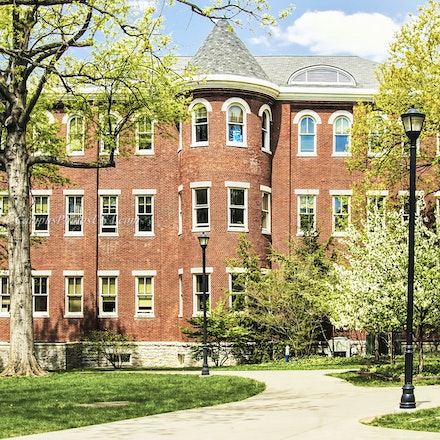 Miller Hall, the University of Kentucky/Color Photo_0785_2436_2 - Photo by Campus Photos USA. Miller Hall, located on the college campus of the University...