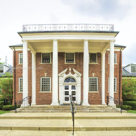 Helen King Alumni Building, the University of Kentucky.Color Print_2436_1_ - Photo by Campus Photos USA. The Helen King Alumni Building, located on the...