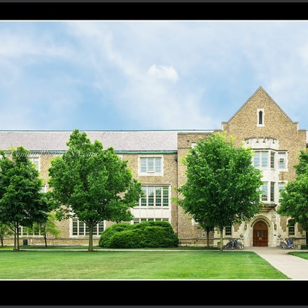 Cushing.Hall.Engineering_Notre.Dame_1632_690_694 - Photo by Campus Photos USA. Cushing Hall of Engineering on the campus of the University of Notre Dame,...