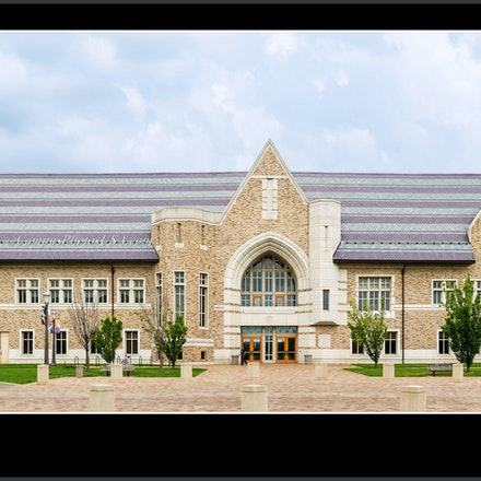 Marie.P..DeBartelo.Centerfor.Performing.Arts,ND_Quadrangle.view_1632_716_723 - Photo by Campus Photos USA. The Marie P. DeBartolo Center for the Performing...