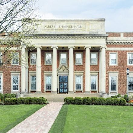 12x24.Albert Emmanuel Hall, University of Dayton_12 x 24_Pano.3.094_105 - Photo by Campus Photos USA. Albert Emanuel Hall, University of Dayton, Dayton,...