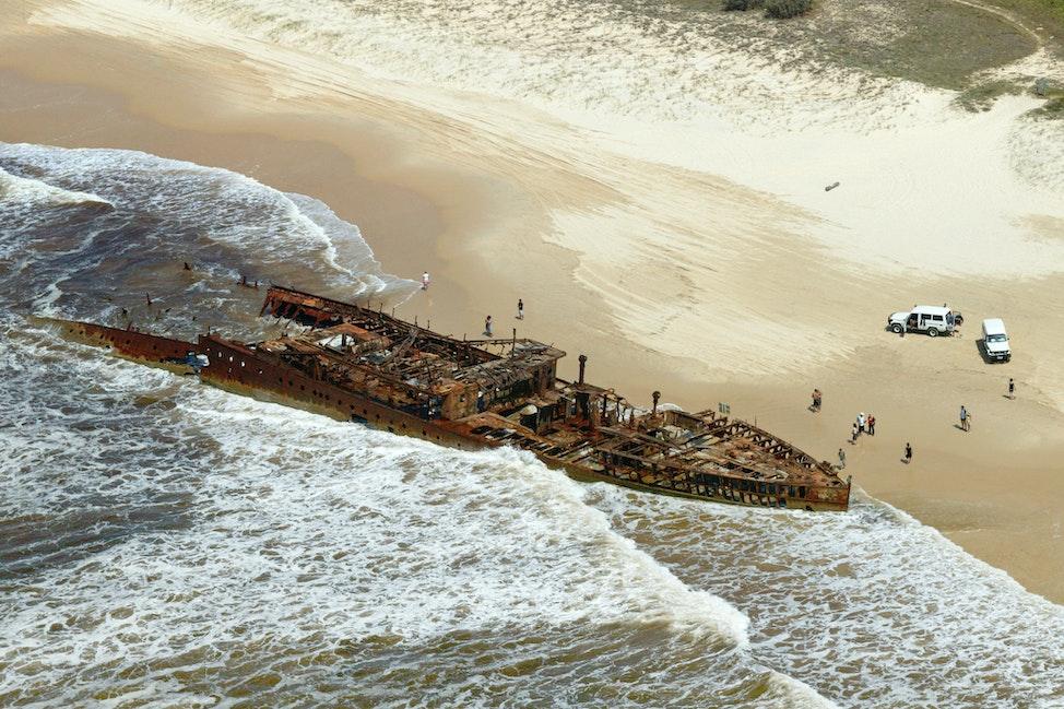 Maheno Wreck-Fraser Island-6763 - Fraser Island, QLD