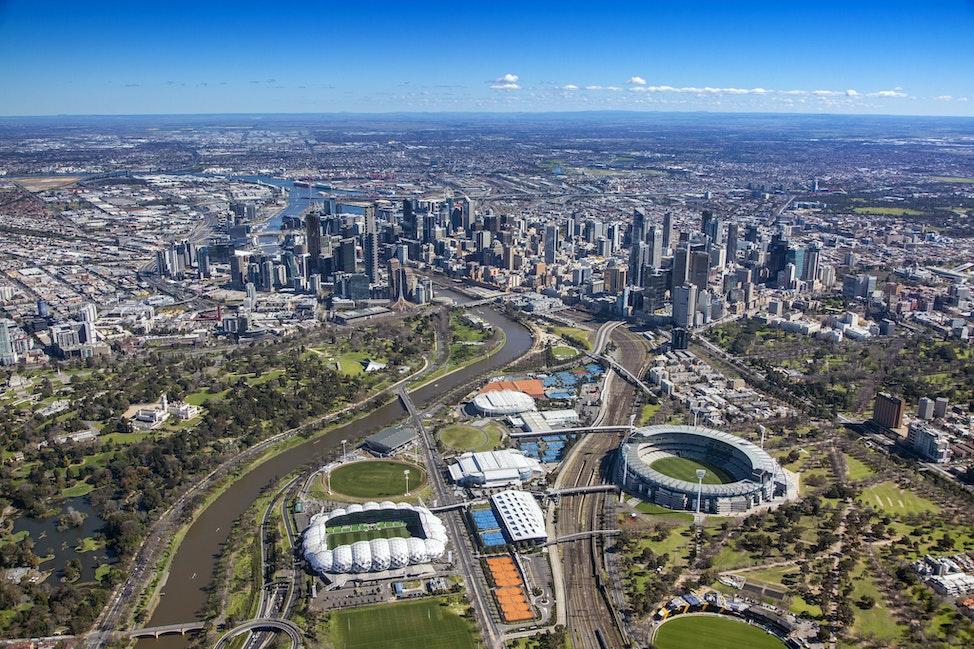 Melbourne Park:MCG_060914_14 - MCG Rod Laver Area, Melbourne