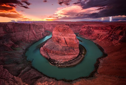 Horseshoe Bend - Page, Arizona. 2013.