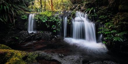 Gwahlahla Falls - Lamington N.P, QLD. 2015.