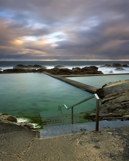 Blue Pool - Bermagui, NSW. 2011.