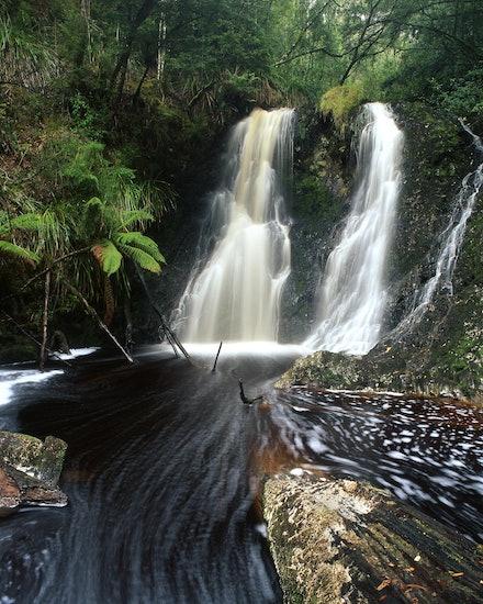 Hogarth Falls - Strahan, TAS. 2012.