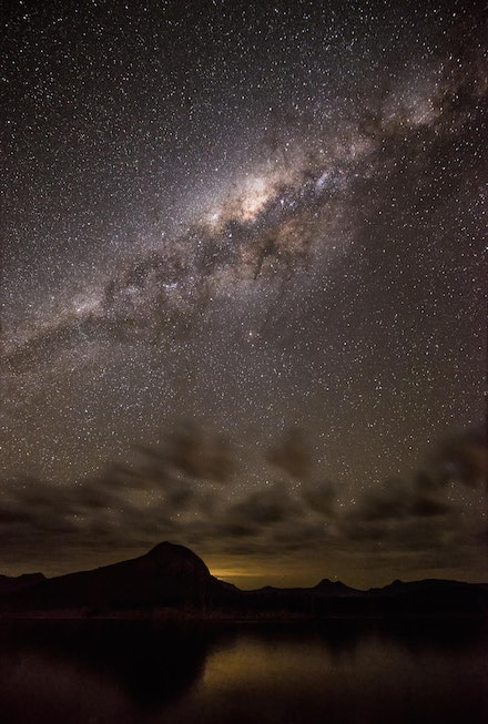 Amidst the Stars - Lake Moogerah, QLD. 2012.