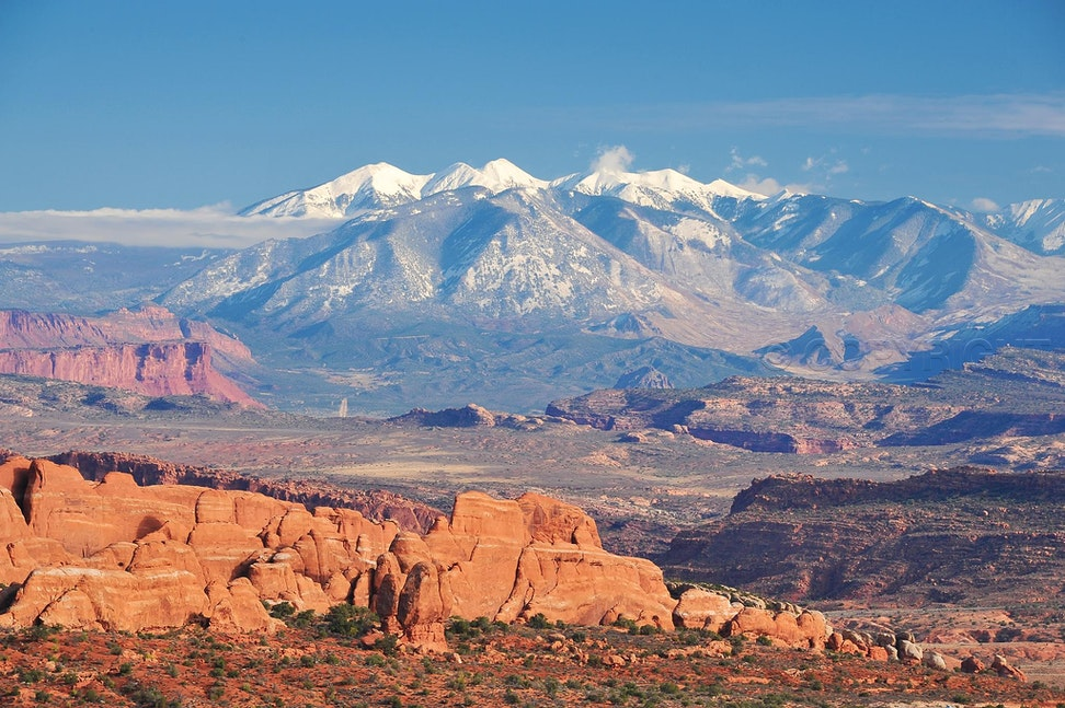 La Sal Mountain Range