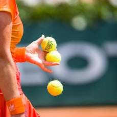 2014 French Open Non-Players - Anything from balls to net; from rackets to signs, at Roland-Garros