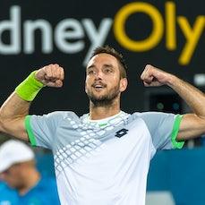 2015 Sydney Day 7 - Featuring Troicki, Kukushkin, Rafter, McEnroe, Doubles images